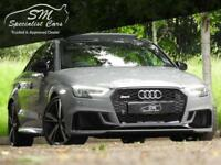2018 AUDI RS3 SALOON AUDI RS3 2.5 TFSI S TRONIC QUATTRO 4DR