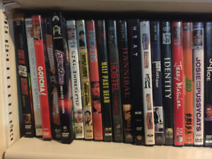 DVD movies and TV seasons
