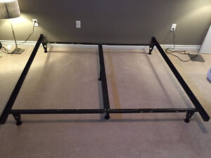 King & Twin Metal bed frames for sale