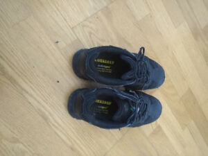 Steel Toe safety shoes . Woman's CSA . Size 8. Only worn for two