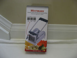 NEW Westmark  French Fry Cutter with 3 Adjustable Blades $32.50
