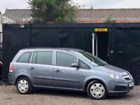 * VAUXHALL ZAFIRA 1.6L + 7 SEATER + ONLY 65K MILES + 2 OWNERS FROM NEW ! *