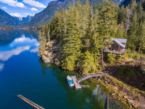 Cabin & Acreage FOR SALE Narrows Inlet Boat Access