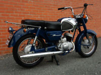 KAWASAKI B8S 150cc 1965 MOT'd SEPTEMBER 2017 FOUR SPEED MANUAL