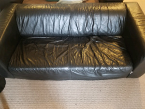 Genuine Leather Lounge Couch