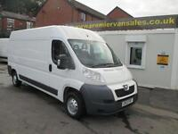 2013 13 PEUGEOT BOXER 2.2 HDI 335 L3H2 1D 130 BHP !!! CHOICE OF TWO !!! BOTH