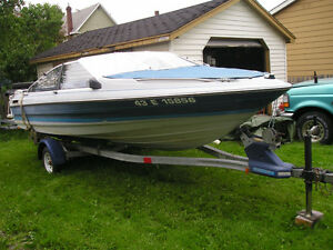 Bayliner capri bowrider 18 ft. with trailer sell or trade for ?
