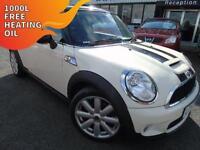 2007 Mini 1.6 Cooper S - White - 12 months MOT + Platinum Warranty!