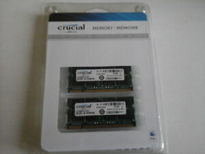 2 Crucial - DDR2 - 2 GB for Apple Macbook Pro 13 inch.