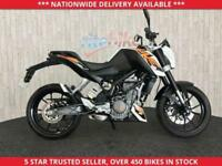 KTM DUKE 125 DUKE 13 LOW MILEAGE 12 MONTH MOT 2013 13