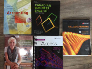 Office Admin/ Accounting/ English Textbook
