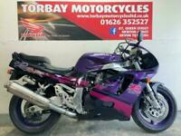 SUZUKI GSXR750WP PURPLE & BLACK CLASSIC SUPERBIKE STANDARD CONDITION VERY NICE