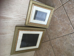 2 matching Picture frames