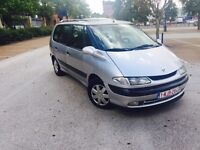 LHD renault espace 7 seater