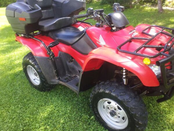 Used 2009 Honda TRX420PG Canadian Trail Edition
