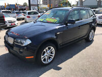 2008 BMW X3 3.0 Si PREMIUM SPORT AWD...LOW KMS...MINT COND.