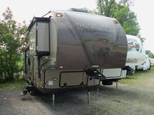 rockwood 5th wheel built by forest river