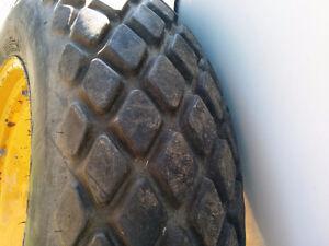 Turf tires on J.D. rims