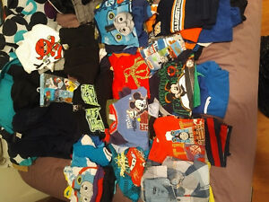 Boys assorted clothes for sale, $150. Or $1 to $5 a piece..