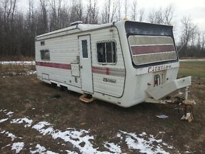 camper trailer for sale. HUNTING CAMP