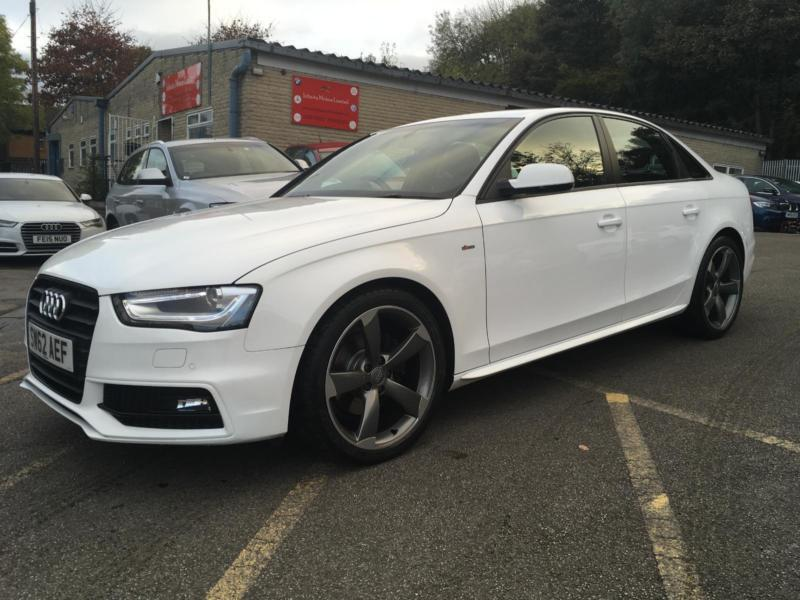 62 PLATE Audi A4 2.0 TDI Black Edition+IBIS WHITE+LOW RATE FINANCE