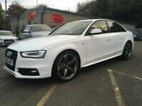 62 PLATE Audi A4 2.0 TDI Black Edition+IBIS WHITE+LOW RATE FINANCE AVAILABLE