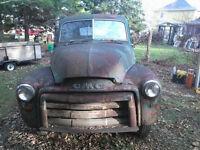 Rare 1948 5 window GMC pick up truck