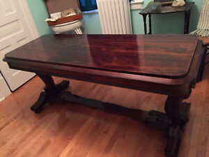 Antique Victorian Rosewood Table