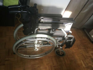 Brand new wheelchair, foldable, transfer chair.