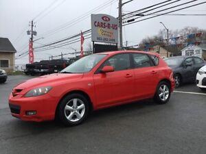 2008 Mazda MAZDA3 GX      FREE 1 YEAR PREMIUM WARRANTY INCLUDED!