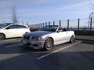 BMW 325i Convertible (M3 appearance)