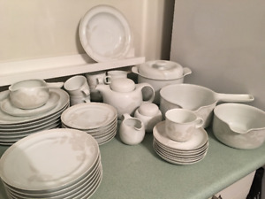 Dishes - fine china - service for 7