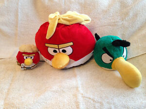 Angry Birds stuffies