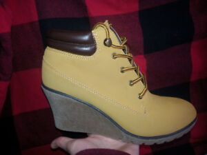 Knock off Timberland Wedges Size7-$50 OBO