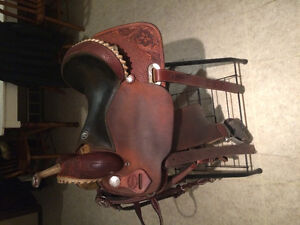 "14.5"" Teskey Barrel Saddle"