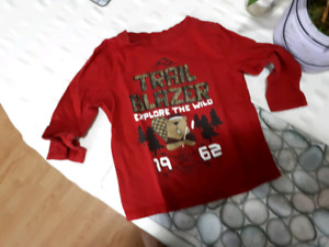 Boys 3t george top