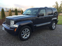 2008 Jeep Liberty LIMITED EDITION, NAVI, LEATHER SUV, Crossover