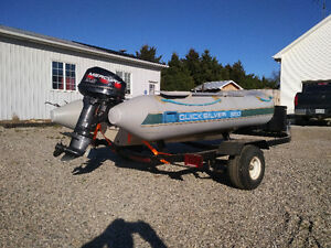 12' Quick Silver 360 Inflatable Boat