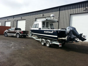 2016 KINGFISHER 2425 ULTIMATE DUAL SPORT BOAT!!