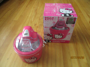 Hello Kitty Ice Cream Maker