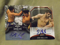 VARIETY OF AUTOGRAPHED AND GAME GEAR MMA CARDS !!!