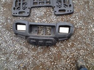 Polaris sportsman front grill and racks
