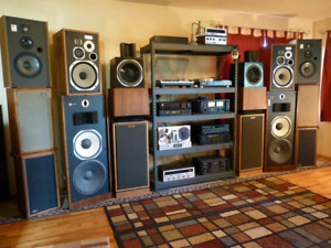 Wanted vintage stereo / audio components