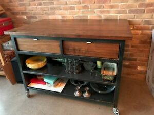 Custom kitchen island from Design Republic - pristine condition