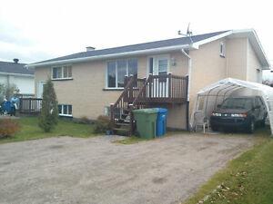 DUPLEX AVEC 2 X  5½ PIÈCES TOUT BRIQUES !!!! Saguenay Saguenay-Lac-Saint-Jean image 1