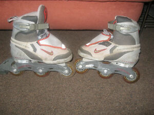 size 3 Nike rollerblades