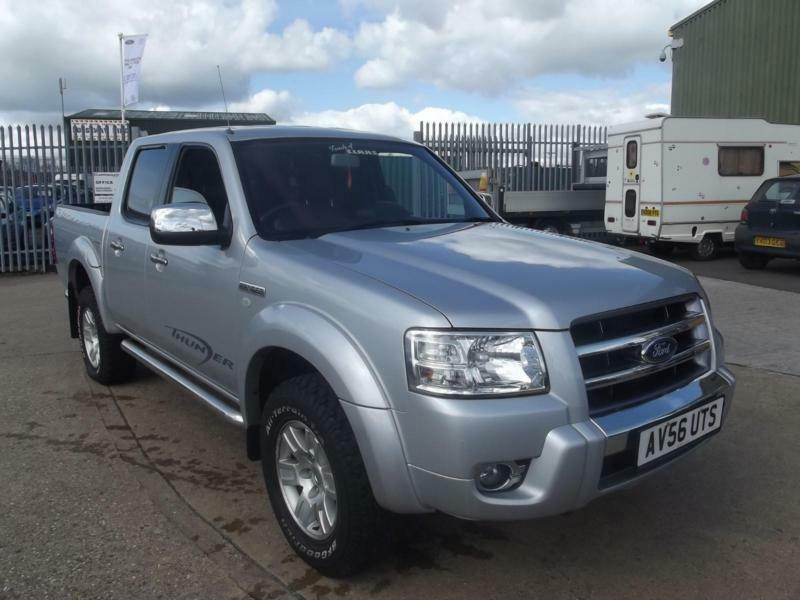 ford ranger tdci ps  xlt thunder double cab