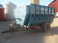 Lucknow TMR mixer HM500 for salvage