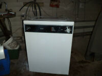 app. size washer portable on wheels
