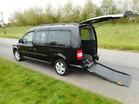 2012 Volkswagen Caddy Maxi 1.6 Tdi WHEELCHAIR DISABLED ACCESSIBLE VEHICLE WAV